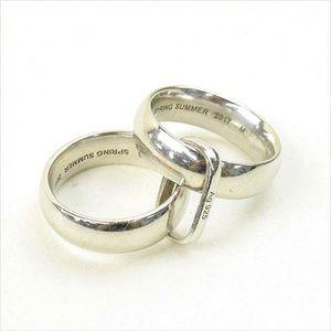 Balenciaga silver ring